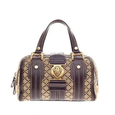 Wwd Top 12 Designer Handbag Brands Of 2007 by Gucci Aviatrix Satchel Tweed Medium At 1stdibs