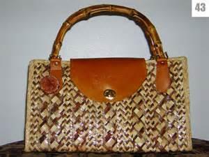 Handmade Straw Bags - handmade straw bag sles barbara jesubatham