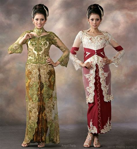 modern indonesian male celebrities introduction of kebaya as the best traditional costume of