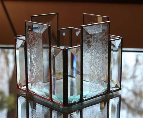 Glass Box Candle Holder 27 Best Images About Stained Glass Candle Holders Boxes