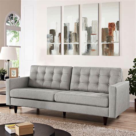 light grey sofa set modern sofas enfield light gray sofa eurway modern
