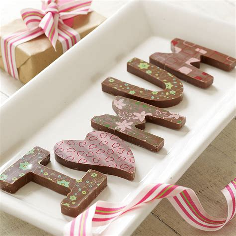 personalised chocolate names messages by choklet
