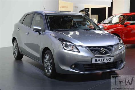 Suzuki Baleno Hatchback Maruti Suzuki Baleno Aka Yra India Launch On Oct 26 Tech