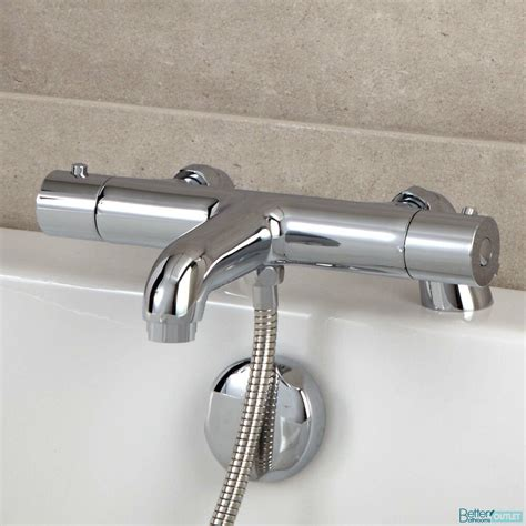 bathroom thermostatic bath shower mixer valve chrome