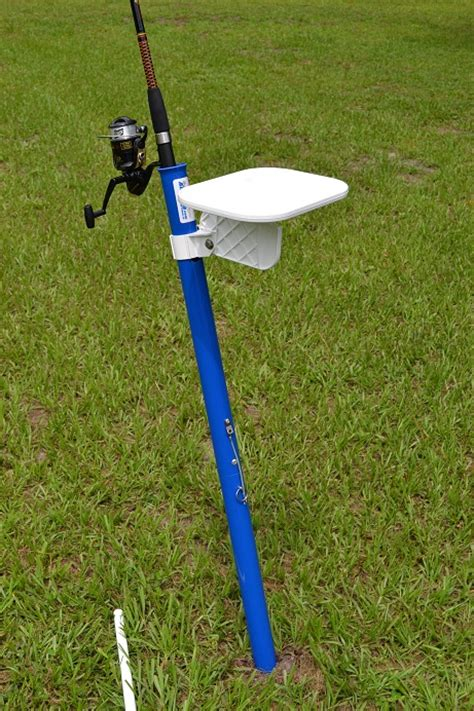 fishing rod table l big rod surf beach fishing rod holder aughog products
