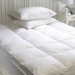 goose feather mattress topper enhancer cover