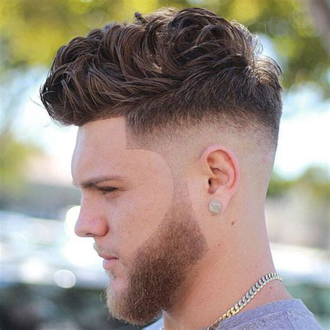 high skin fade with beard short hairstyles for men men s hairstyles haircuts 2017
