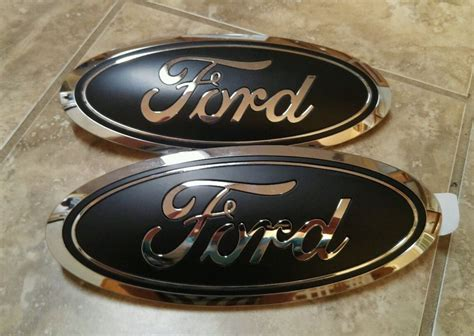 Ford F150 Emblems by 2015 17 Ford F150 Grill Tailgate Emblem Custom Matte