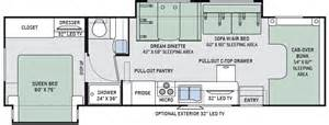 Tioga Rv Floor Plans new 2016 thor four winds 31l class c for sale 1266047