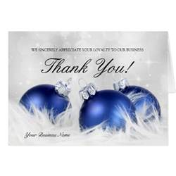 business christmas thank you cards zazzle