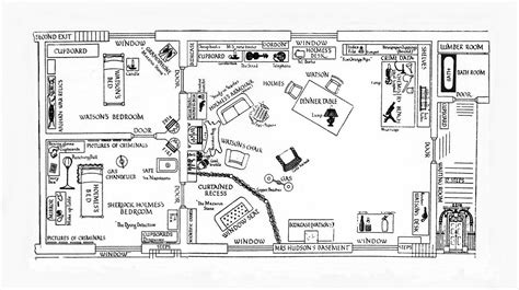 221b baker floor plan interior of 221b baker can you find the links in