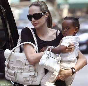 Bag For Babies Zahara Joli Pitt With Valentino Histoire Bag by Sport Designer Bags