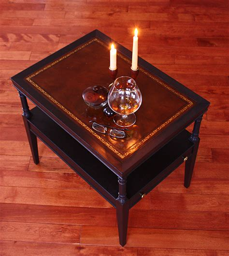 leather table top leather top table zeller interiors