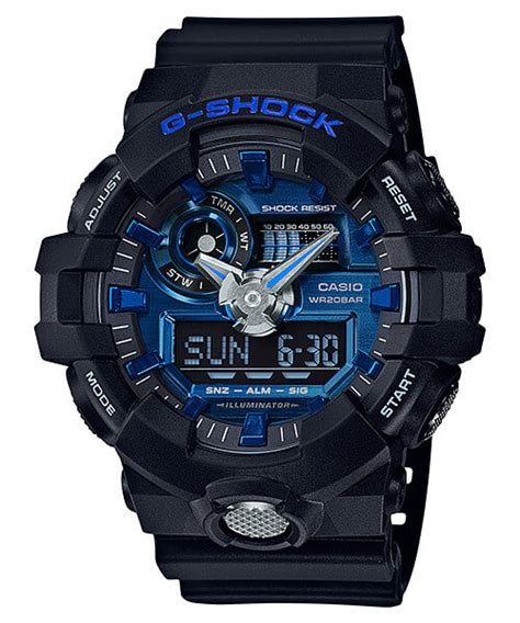 Casio G Shock Ga 710 1a2 g shock ga 710 garish color series with metallic blue ga 700 7a white ga 700 7a g
