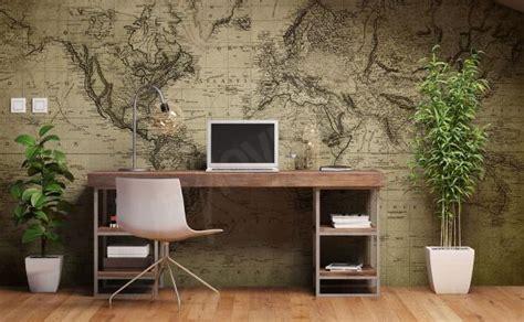 Papiers Peints Bureau Mur Aux Dimensions Myloview Fr Papier Peint Pour Bureau