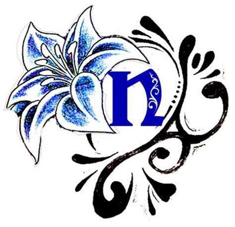 tattoo lis flower n by dx9 on deviantart