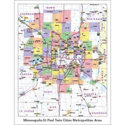 Twin Cities Metro Map by Scalable Online Minnesota Horsemans Directory By America
