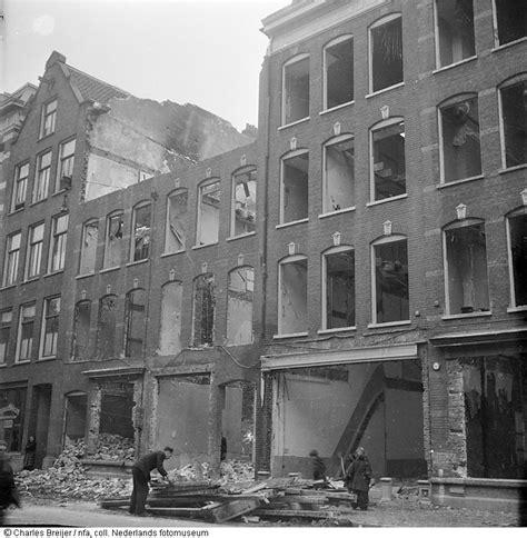 bloemen treublaan den haag gesloopte huizen in de jodenbuurt amsterdam 1945