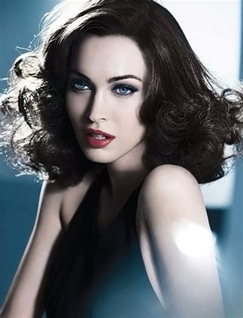 Stunningly by Megan Fox Stunningly Beautiful In New Armani Campaign