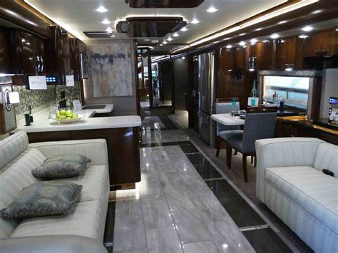 Motor Home Interiors by 91 Used Rv Interiors Interior Rv With Led Bulbs Used