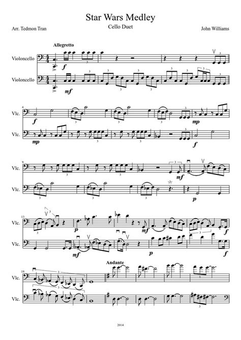 printable star wars theme song violin star wars violin sheet music music search engine at