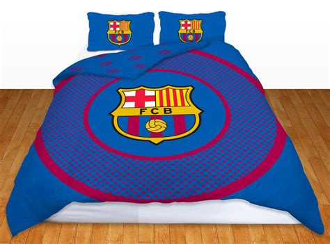 barcelona fc bedroom set barcelona football club barca double duvet quilt cover