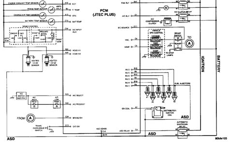1994 dodge dakota headlight wiring diagram wiring