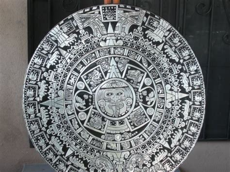 Calendario Azteca Original Calendario Azteca Florian Artelista