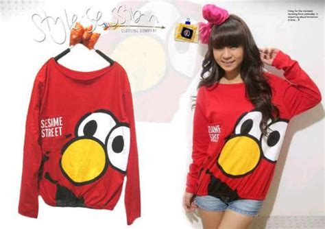 Jaket Hoodie Elmo Dan Cookie 3 fashion arek anom