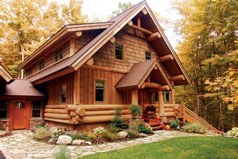 Build A Cabana by The Log House Wooden Homes Or Log Houses Ward Log Homes