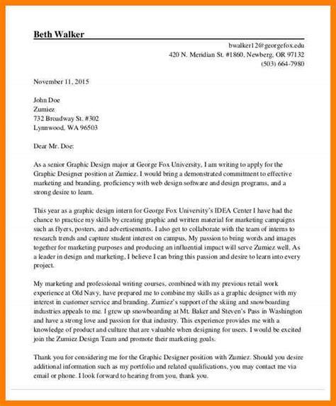senior graphic designer cover letter 10 graphic designer cover letter letter flat