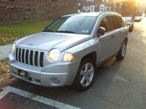 Jeep Compass 2 Door Purchase Used 2007 Jeep Compass Limited Sport Utility 4