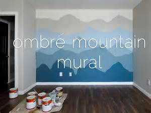 Underwater Wall Murals Www ombr 233 mountains mural time lapse youtube