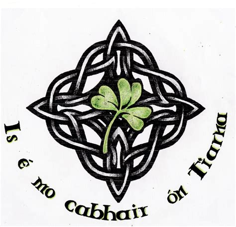 60 so celtic knot shamrock tattoos golfian