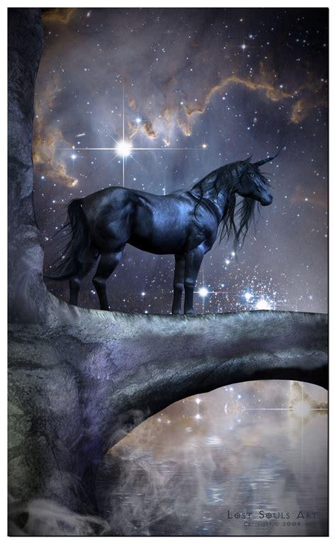 The Black Unicorn the black unicorn by lostsoulsart on deviantart