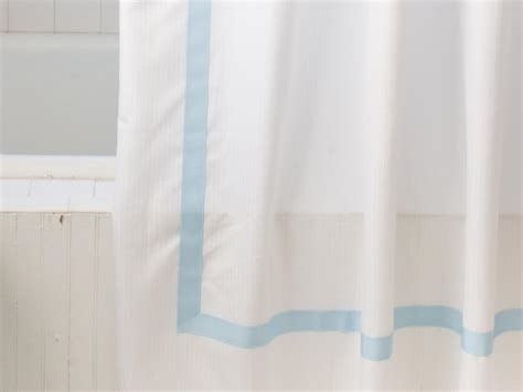 create a shower curtain create a ribbon embellished shower curtain hgtv