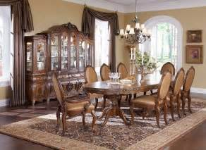 Michael Amini Dining Room Set by Lavelle Melange 10 Pc Oval Pedestal Dining Set By Michael