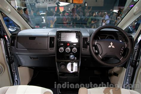 mitsubishi delica 2016 interior mitsubishi delica at the 2014 indonesia international