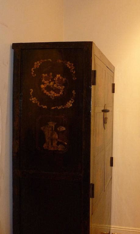 black armoires for sale black lacquer armoire with gilt motif for sale at 1stdibs