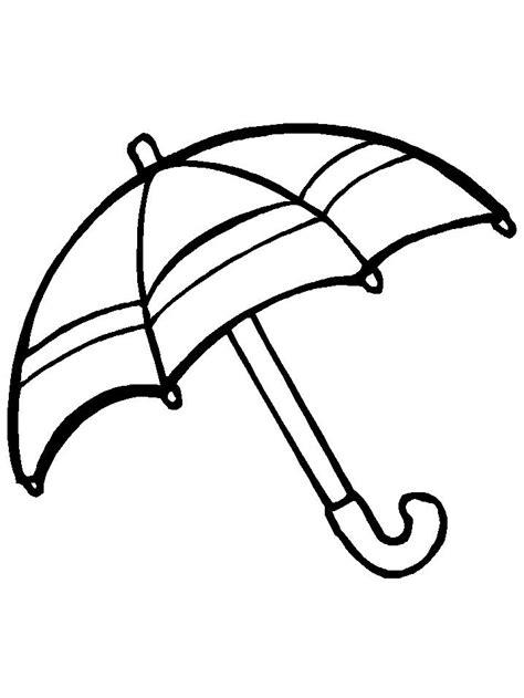 imagenes para colorear variadas paraguas dibujalia dibujos para colorear elementos y