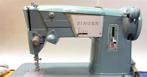 mi vintage sewing machines singer 327 k 1964
