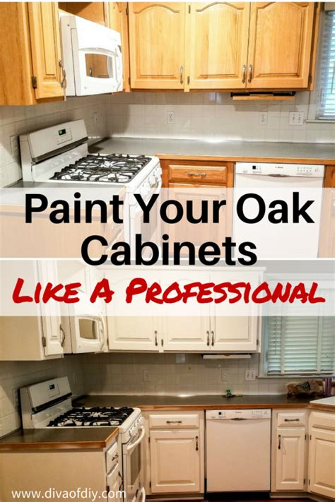 oak kitchen cabinet makeover oak cabinet makeover how to paint like a professional