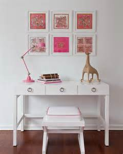 girls bedroom desk white lacquer desk contemporary girl s room sissy