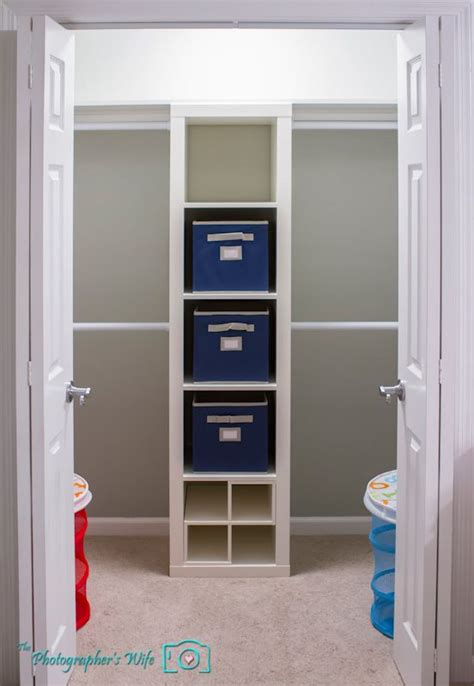 ikea closet shelves closet using ikea expedit 5x1 organising pinterest closet organization long shelf and the