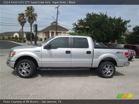 2014 Ford F150 Stx by Ingot Silver 2014 Ford F150 Stx Supercrew 4x4 Black