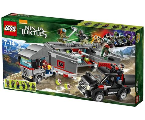 79116 lego turtles big rig snow getaway r 329
