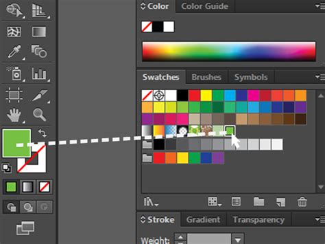 adobe illustrator cs2 pattern swatches how to create an adobe illustrator swatch 4 steps with