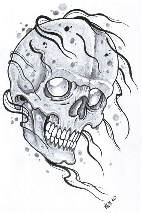 tattoo idea drawings afrenchieforyourthoughts skulls tattoos drawings