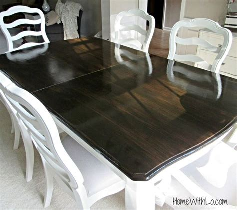 how to stain a dining table best 10 stain paint ideas on staining
