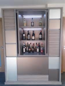 bespoke luxury drinks cabinet contemporary wine and
